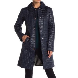 NWT Kate Spade New York Quilted Parka Coat Outwear